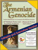 Armenian Genocide  -- 77 Questions in Word AND Examview formats