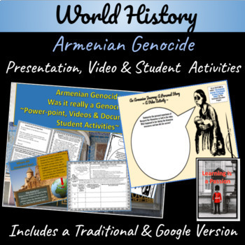 Armenian Genocide  ~Power-point, Video & Document Based Activity~