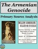 Armenian Genocide Primary Source Analysis