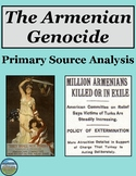 Armenian Genocide Primary Source Analysis