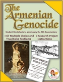 Armenian Genocide Student Viewing Worksheets: PDF