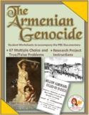 Armenian Genocide Worksheet Bundle: PDF, Word, Examview Formats