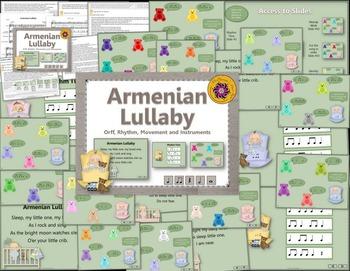 Armenian Lullaby: Orff, Rhythm, Movement and Instruments