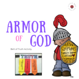Armor of God - Belt of Truth activity