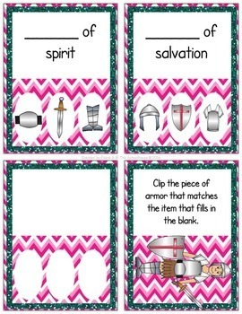 Armor of God Clip Cards