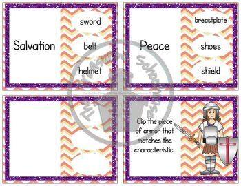 Armor of God Clip Cards