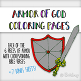 Armor of God Coloring Pages
