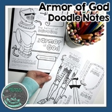 Armor of God Doodle Notes