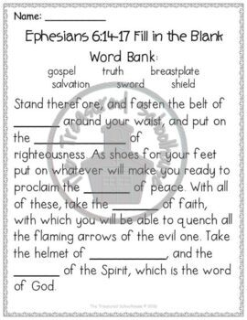 image about Armor of God Printable known as Armor of God Worksheet Pack