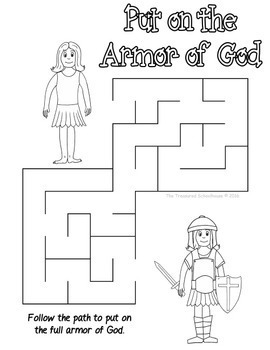 Budget Friendly Homeschooling: Free Armor of God Worksheet
