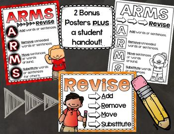 ARMS Revising Writing Posters and Handout