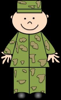 Army Man Clip Art