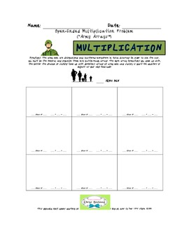 Army Man Multiplication Arrays