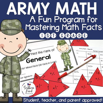 Math Facts Fluency Program First Grade (Addition & Subtraction)