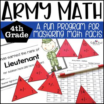 Math Facts Fluency Program Fourth Grade (All Operations)