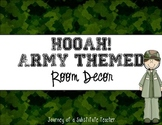 Army Room Decor Pack