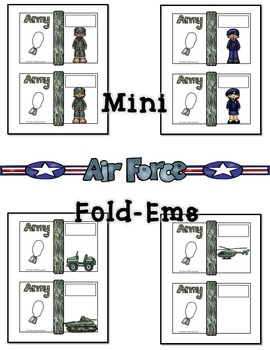 Air Force United States Air Force Mini Fold-Ems