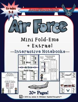 Air Force United States Air Force Mini Fold-Ems