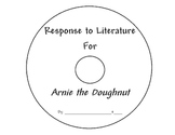 Arnie the Doughnut Response to Literature Paper