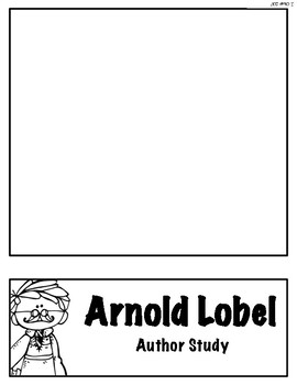 Arnold Lobel Author Study Flipbook Frog and Toad Free