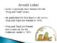 Arnold Lobel Biography PowerPoint