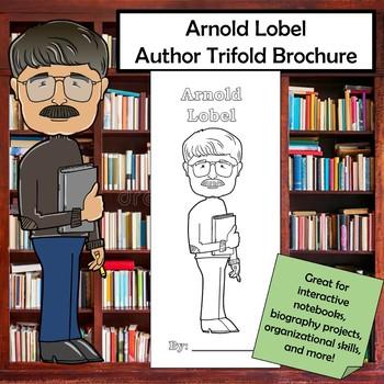 Arnold Lobel Biography Trifold Brochure
