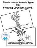 Arnold's Apple Tree Following Directions Activity