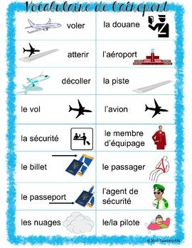 Aéroport - Mur de mots (Airport travel theme)