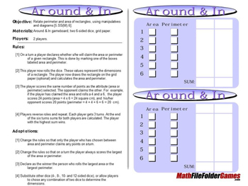 Around & In: Perimeter and Area of Rectangles