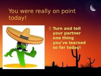 Around One Cactus PowerPoint Reading Street 3.3.5