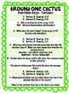 Around One Cactus Reading Street 3rd Grade Unit 3 Partner Reading centers groups
