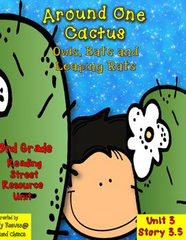 Around One Cactus Resource Pack 3rd Grade Reading Street U