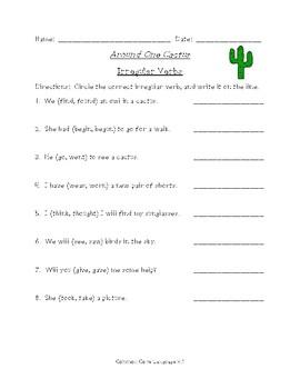 Around One Cactus (Scott Foresman Reading Street)