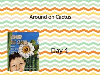Around One Cactus Power point and interactive notebook