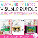 Around School Visuals Bundle