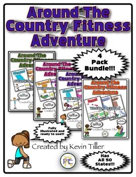 Around The Country Fitness Adventure Bundle