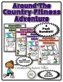 Around The Country Fitness Adventure Bundle