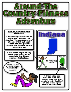 Around The Country Fitness Adventure (Midwest Edition)