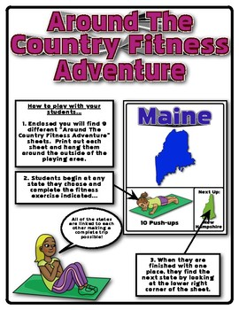 Around The Country Fitness Adventure (Northeast Edition)