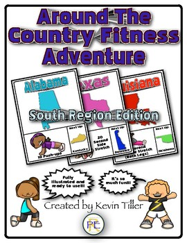 Around The Country Fitness Adventure (South Edition)