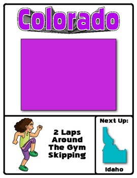 Around The Country Fitness Adventure (West Edition)