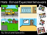 Around The School Rules Expected Behavior Mats