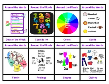 Around The Words: An Interactive Card Game
