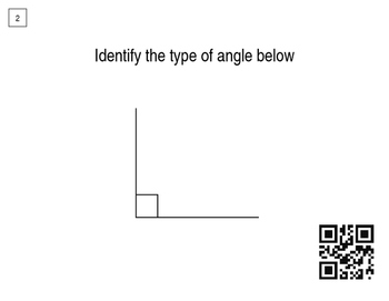 Around The World (QR Codes)- Identifying Angles
