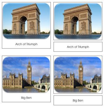 Around The World Safari Toob Cards - Montessori