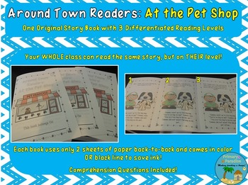 Differentiated Readers Around Town: At the Pet Shop