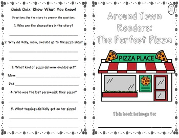 Differentiated Readers Around Town: The Perfect Pizza