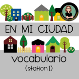 Spanish City / Town Unit, lugares, places, vocabulary