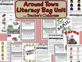 Around Town Literacy Bag Unit from Teacher's Clubhouse