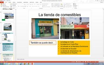 Around Town Spanish 2 Expresate Chapter 3